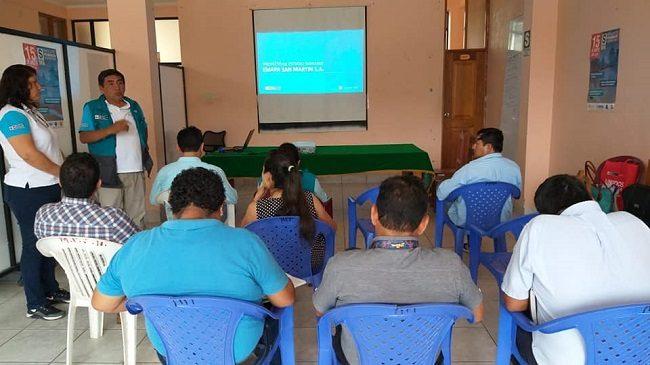 Reunión informativa con EMAPA San Martín