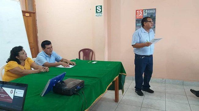 Fortaleciendo Capacidades en Temas Archivistico en Picota