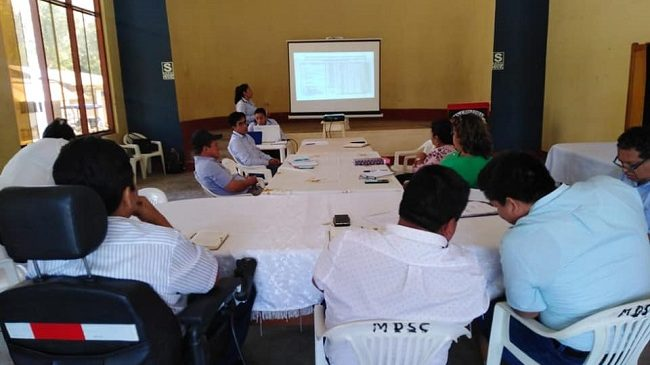 Sesión de Directorio del IVP Picota