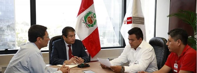 Alcalde Provincial se Reune con el Ministro de Vivienda