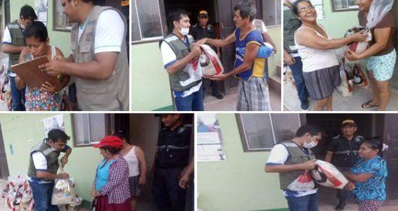 """<p align=""""center"""">Funcionarios de la Municipalidad Provincial de Picota uniéndose al apoyo social solidario en Barranquita</p>"""
