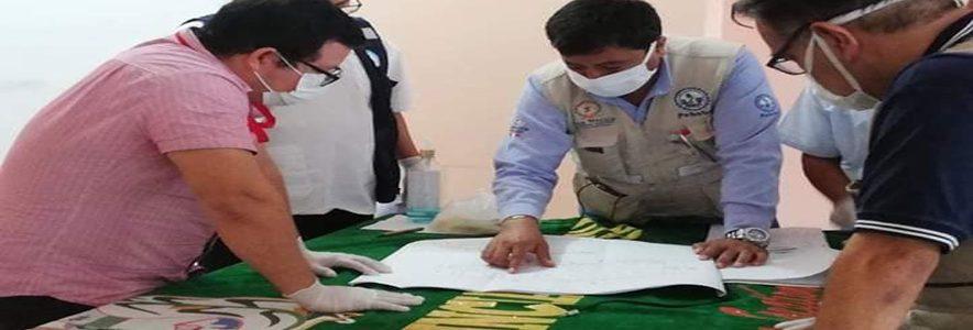 Instalaran Módulos para pacientes COVID en Picota